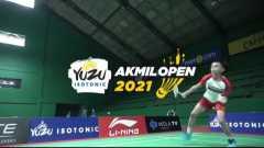 Yuzu Isotonic Akmil Open 2021 ajang pelepas dahaga dunia bulutangkis